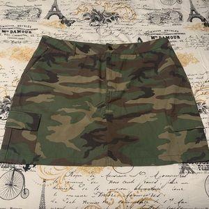 Forever 21 Camouflaged Skirt (New)